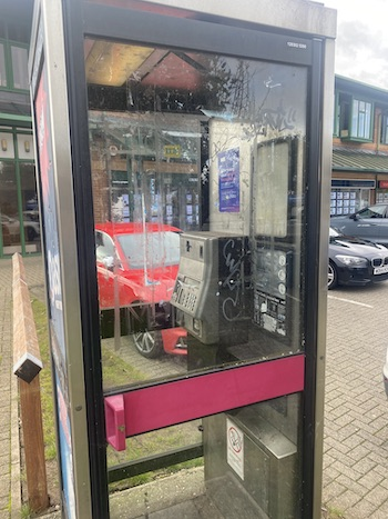 Russell Centre Flitwick payphone
