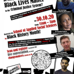 University 'Changemakers' to host Black youth justice event poster