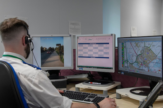 new live streaming technology helps save lives GoodSAM Image supplied by Bedfordshire Police