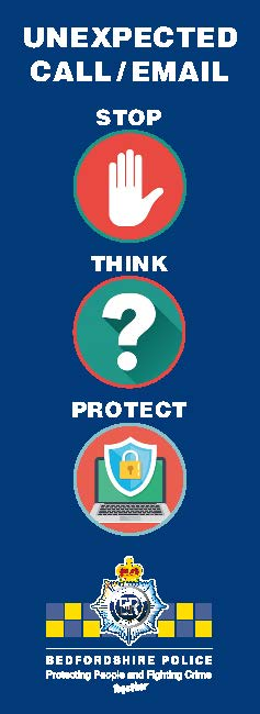 Cyber Protect Card Page 1 Image:Bedfordshire Police