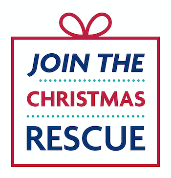 RSPCA Join the Christmas Rescue Logo Image RSPCA