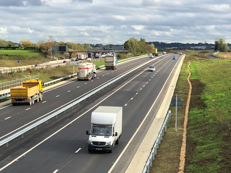 Council completes A421 dualling upgrade into Milton Keynes Image Central Bedfordshire Council