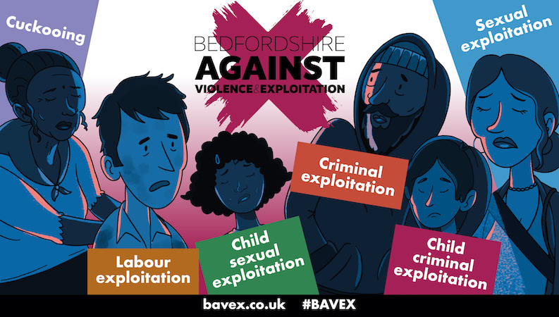 BAVEX victims Image supplied by Bedfordshire Police