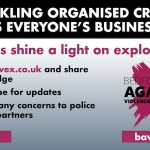 Call to action Image supplied by Bedfordshire Police