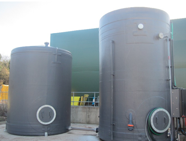 Rainwater harvesting system Image Central Bedfordshire Council