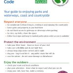 Countryside Code leaflet Page 1