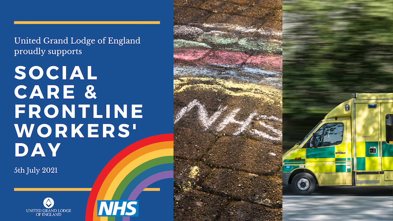 Freemasons to celebrate NHS, Social Care and Frontline Workers' Day