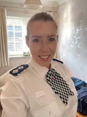Inspector Louise Bates Image:Bedfordshire Police