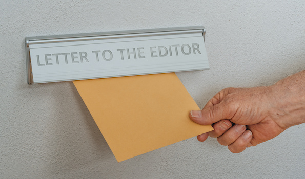 Letter to the editor By Zerbor AdobeStock_312342190
