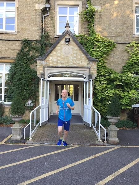 Dr Nick Green, Speciality doctor at Sue Ryder St John's Hospice in Moggerhanger, Bedfordshire