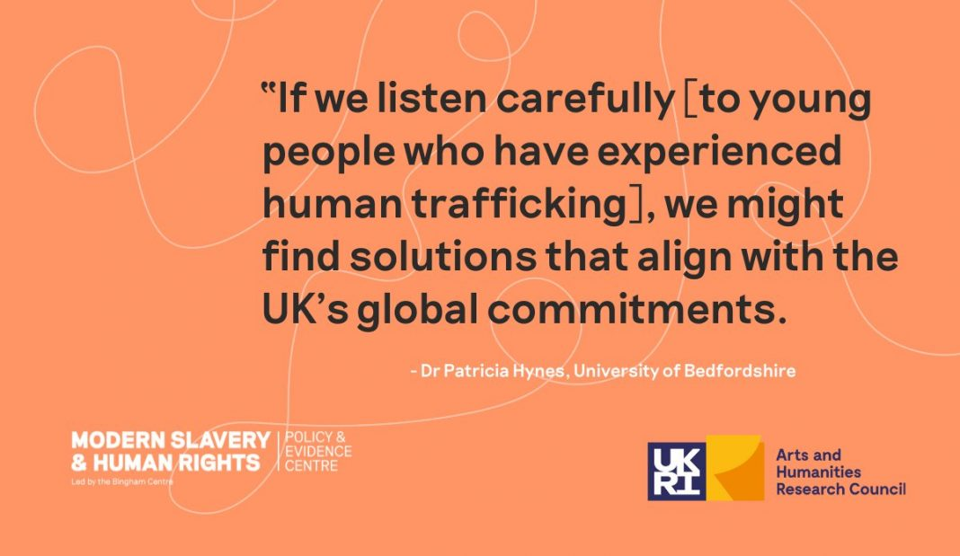 Modern slavery of children & young people to be tackled through research Image supplied by University of Bedfordshire